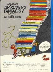 Verso de Spirou et Fantasio -10d77- Les pirates du silence
