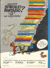 Verso de Spirou et Fantasio -11c77a- Le gorille a bonne mine