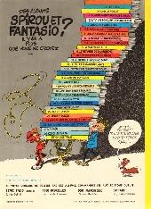 Verso de Spirou et Fantasio -12d80- Le nid des Marsupilamis