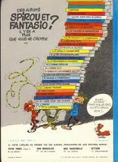 Verso de Spirou et Fantasio -13d77b- Le Voyageur du mésozoïque