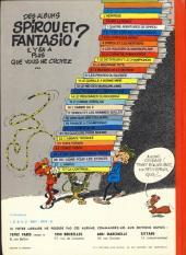 Verso de Spirou et Fantasio -14e77- Le prisonnier du Bouddha
