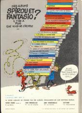 Verso de Spirou et Fantasio -15d77- Z comme Zorglub