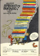 Verso de Spirou et Fantasio -16d77- L'ombre du Z