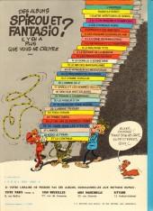 Verso de Spirou et Fantasio -18d80- QRN sur Bretzelburg
