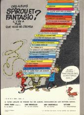 Verso de Spirou et Fantasio -19a1979- Panade à Champignac