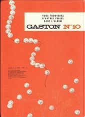 Verso de Gaston -9a82- Le cas Lagaffe