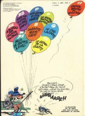 Verso de Gaston -11a1977- Gaffes, bévues et boulettes