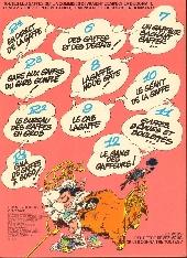 Verso de Gaston -13a1979- Lagaffe mérite des baffes