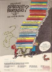 Verso de Spirou et Fantasio -7e82- Le dictateur et le champignon