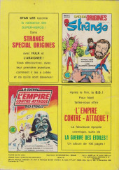 Verso de Spécial Strange -22- Spécial Strange 22
