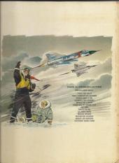 Verso de Tanguy et Laverdure -13a1971- Lieutenant Double Bang