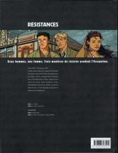 Verso de Résistances -2- Le vent mauvais