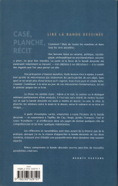 Verso de (AUT) Peeters, Benoît -a- Case, planche, récit - Lire la bande dessinée