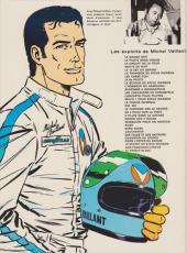 Verso de Michel Vaillant -3e1984- Le circuit de la peur