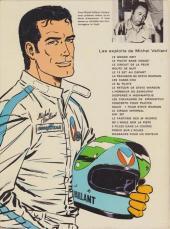 Verso de Michel Vaillant -5b1972- Le 13 est au départ