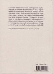 Verso de (AUT) Hergé -170- Tintin et les médias