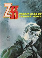 Verso de Z33 agent secret -58- Une folle nuit