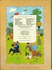 Verso de Tintin (Historique) -18B37Bis- L'affaire Tournesol