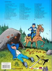Verso de Les tuniques Bleues -25Déc- Des Bleus et des bosses