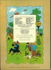 Verso de Tintin (Historique) -17B38- On a marché sur la Lune