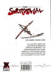 Verso de Swordsman (The) -2- Tome 2