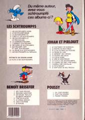 Verso de Les schtroumpfs -1b83- Les Schtroumpfs noirs