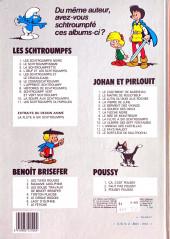 Verso de Les schtroumpfs -5b83- Les Schtroumpfs et le Cracoucass