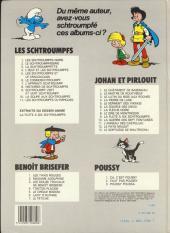 Verso de Johan et Pirlouit -12b1983/07- Le pays maudit