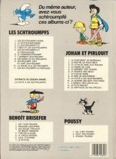 Verso de Johan et Pirlouit -13b82- Le sortilège de Maltrochu