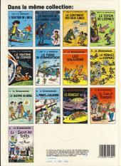 Verso de Le scrameustache -1c85- L'héritier de l'Inca