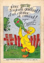 Verso de Oscar le petit canard (Les aventures d') -9- Oscar le petit canard sur la côte d'Azur