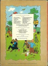 Verso de Tintin (Historique) -14B36- Le temple du soleil