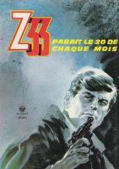 Verso de Z33 agent secret -71- Des soldats d'acier