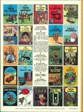 Verso de Tintin (Historique) -12C4- Le trésor de Rackham Le Rouge