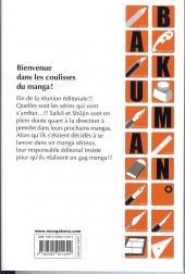 Verso de Bakuman. -7- Gags et sérieux