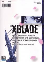 Verso de XBlade -1- Tome 1