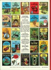 Verso de Tintin (Historique) -3C4- Tintin en Amérique