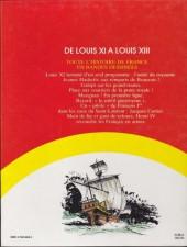 Verso de Histoire de France en bandes dessinées (Intégrale) -4FL- De Louis XI à Louis XIII