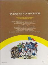 Verso de Histoire de France en bandes dessinées (Intégrale) -5FL- De Louis XIV à la révolution