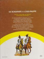 Verso de Histoire de France en bandes dessinées (Intégrale) -6FL- De Bonaparte à Louis-Philippe