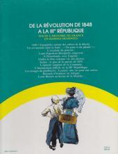 Verso de Histoire de France en bandes dessinées (Intégrale) -7FL- De la Révolution de 1848 à la IIIe République
