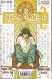 Verso de Death Note -INT1- Tome 1 et 2