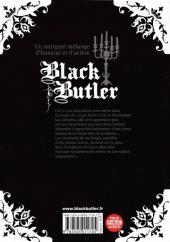 Verso de Black Butler -7- Black Dancer