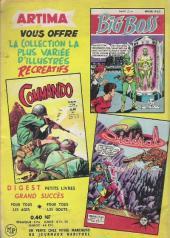 Verso de Commando (2e série - Artima) -26- As dans la neige !