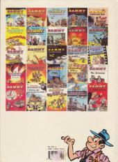 Verso de Sammy -14a1990- Les gorilles marquent un but