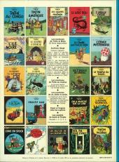Verso de Tintin (Historique) -8C4- Le sceptre d'Ottokar