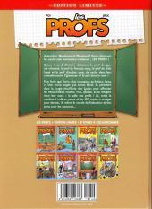 Verso de Les profs -5ES- Chute des cours