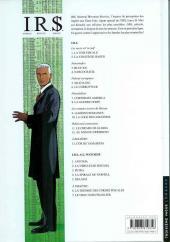 Verso de I.R.$. puis I.R.$ -6a06- Le corrupteur
