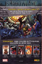 Verso de Marvel Heroes (Marvel France - 2011) -6- Le plus fort du monde