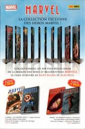 Verso de Marvel Stars -6- Un éclair dans la nuit